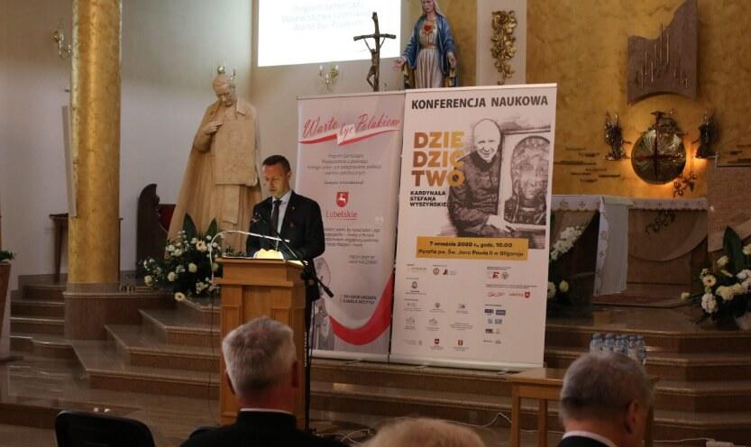 Dziedzictwo Kardynała Stefana Wyszyńskiego – konferencja w Biłgoraju