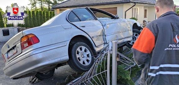 BMW na płocie